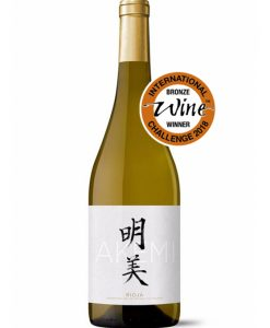 Akemi Vino Blanco Para Sushi de Ontañon y Félix Jiménez