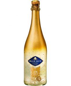 Blue Nun Espumoso con virutas de oro 24K