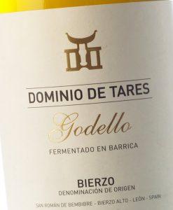 Dominio De Tares Godello Fermentado En Barrica Bierzo Etiqueta